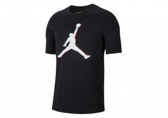 NIKE AIR JORDAN JUMPMAN 23D TEE BLACK