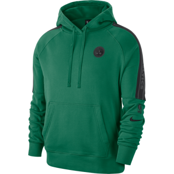 NIKE NBA BOSTON CELTICS COURTSIDE PULLOVER HOODIE