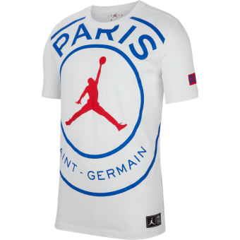 AIR JORDAN PSG PARIS SAINT-GERMAIN LOGO TEE
