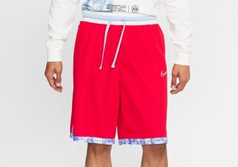 NIKE DRI-FIT DNA BASKETBALL SHORT UNIVERSITY RED