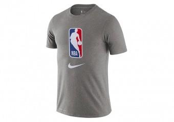 NIKE NBA TEAM 31 DRY TEE DARK GREY HEATHER