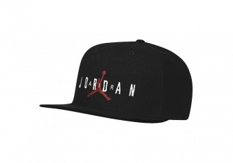 NIKE AIR JORDAN PRO SPORT DNA TERRY CAP BLACK