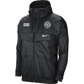 NIKE NBA BROOKLYN NETS COURTSIDE LIGHTWEIGHT JACKET