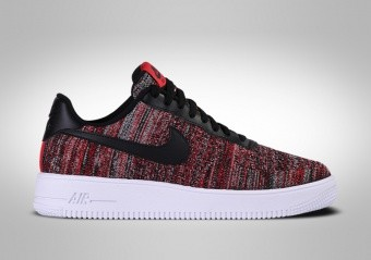 NIKE AIR FORCE 1 LOW FLYKNIT 2.0 RED