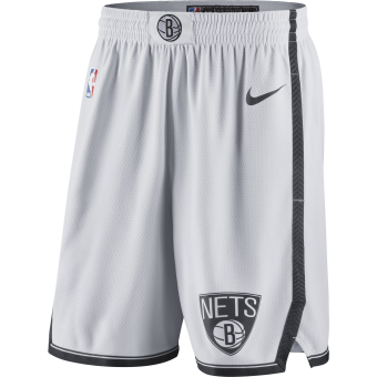 NIKE NBA BROOKLYN NETS SWINGMAN HOME SHORTS