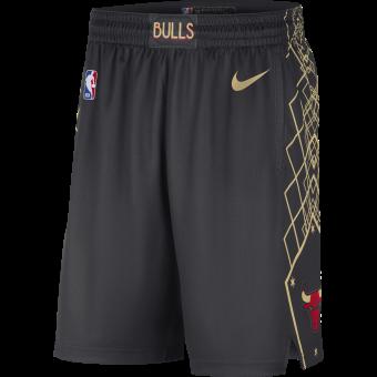 NIKE NBA CHICAGO BULLS CITY EDITION SWINGMAN SHORTS