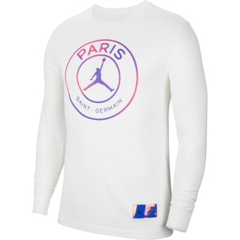 JORDAN PSG PARIS SAINT-GERMAIN LONG-SLEEVE TEE