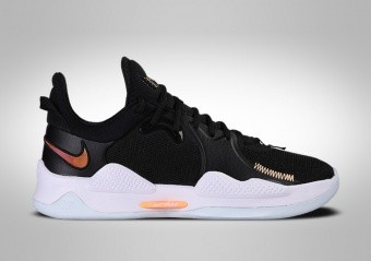 NIKE PG 5 BLACK MULTICOLOR PAUL GEORGE