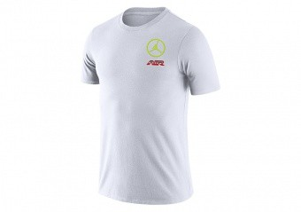 NIKE AIR JORDAN SPORT DNA TEE WHITE