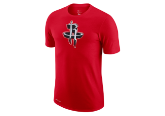 NIKE NBA HOUSTON ROCKETS EARNED EDITION LOGO DRI-FIT TEE