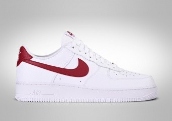 NIKE AIR FORCE 1 LOW WHITE FIRE RED