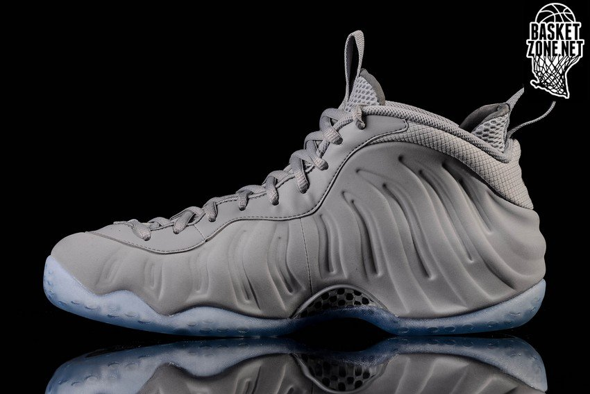 huge discount 383e7 43d70 NIKE AIR FOAMPOSITE ONE PRM WOLF GREY SUEDE