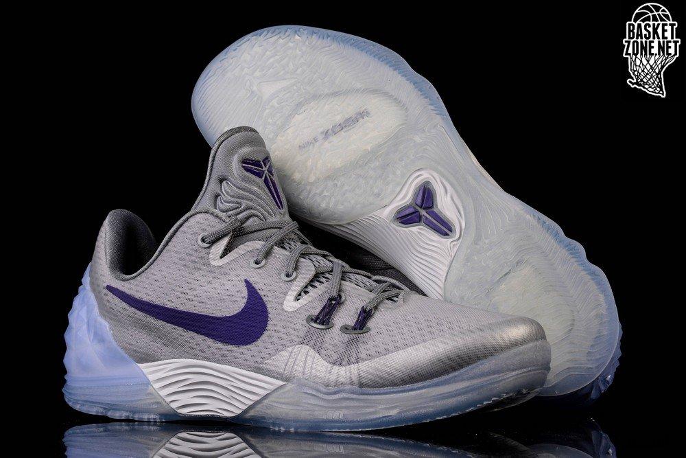 new style d84e2 b2391 ... real nike zoom kobe venomenon 5 wolf grey court purple 79ff7 98e79