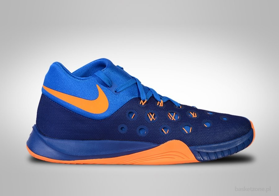 cheaper 752a2 e33cc NIKE ZOOM HYPERQUICKNESS 2015 INSIGNIA BLUE BRIGHT CITRUS. 749882-484